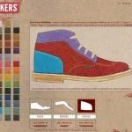 Personalizza le Kickers con il shoes configurator