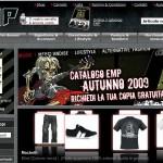 Emp, l'abbigliamento rock e punk online